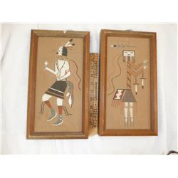 Pair of Sand Paintings