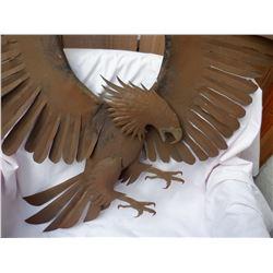 Large Metal Eagle