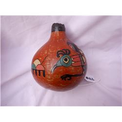 Large Painted Gourd