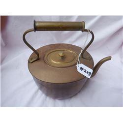 Copper Tea Pot 2