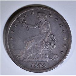 1878-S TRADE DOLLAR XF