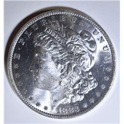 1883-O MORGAN DOLLAR GEM BU SEMI PROOF LIKE