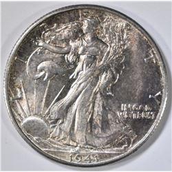 1941-S WALKING LIBERTY HALF DOLLAR  CH/GEM UNC