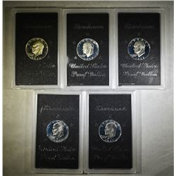 2-1971, 2-1972 & 1974 EISENHOWER PROOF DOLLARS