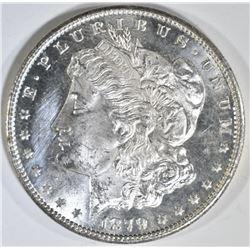 1879-S REV 79 CH/GEM BU & 1882-O BU MORGAN DOLLARS