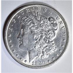 1880-O MORGAN DOLLAR  CH/GEM BU