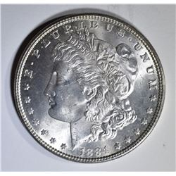 1884 MORGAN DOLLAR  CH BU