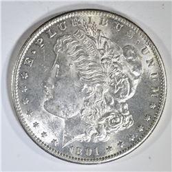 1891-S MORGAN DOLLAR  CH BU