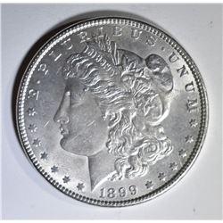 1899 MORGAN DOLLAR  CH/GEM BU