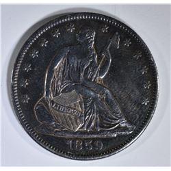 1859-O SEATED LIBERTY HALF DOLLAR  AU/BU