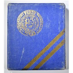 1936 BRIDGEPORT COMMEM HALF  GEM BU W/ORIGINAL BOX