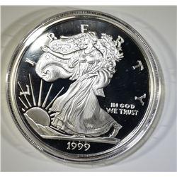 1999 HALF POUND (7.29 TROY OZ) SILVER EAGLE