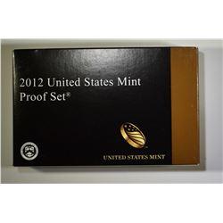 2012 U.S. MINT PROOF SET