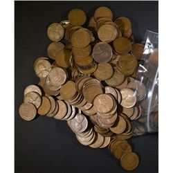 500 MIXED DATE WHEAT CENTS