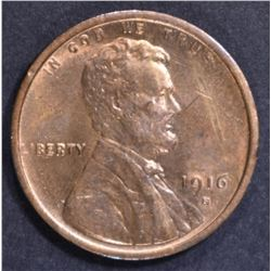 1916-S LINCOLN CENT CH BU RB