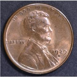 1929-S LINCOLN CENT CH BU RB