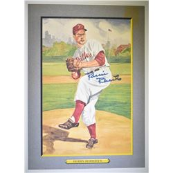 ROBIN ROBERTS PEREZ STEELE GREAT MOMENTS SIGNED