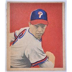 1949 BOWMAN #46 ROBIN ROBERTS ROOKIE CARD, NM