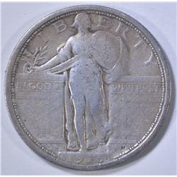 1916 STANDING LIBERTY QUARTER, FINE