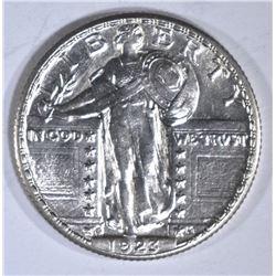1923-S STANDING LIBERTY QUARTER GEM BU FULL HEAD