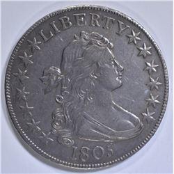 1805 BUST HALF DOLLAR CH AU