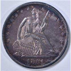 1851 SEATED LIBERTY HALF DOLLAR BU