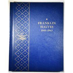 1948-63-D FRANKLIN HALF DOLLAR SET IN ALBUM