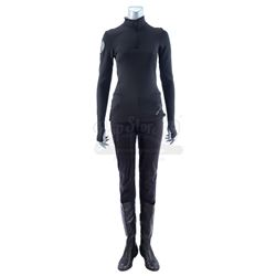 Lot #21 - Marvel's Agents of S.H.I.E.L.D. - Melinda May's Partial Stunt S.H.I.E.L.D. Costume