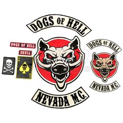 Lot #29 - Marvel's Agents of S.H.I.E.L.D. - Set of Dogs of Hell Patches
