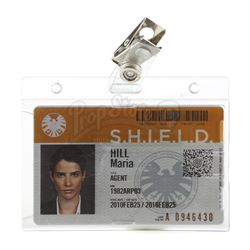 Lot #33 - Marvel's Agents of S.H.I.E.L.D. - Maria Hill's S.H.I.E.L.D. ID Card