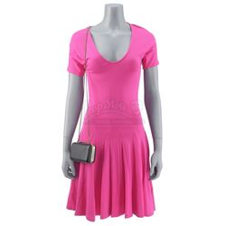Lot #55 - Marvel's Agents of S.H.I.E.L.D. - Daisy Johnson's Quinn Party Dress, Purse, and Makeup Cas