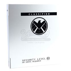 Lot #61 - Marvel's Agents of S.H.I.E.L.D. - Phil Coulson's Level 10 S.H.I.E.L.D. Binder