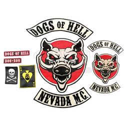 Lot #63 - Marvel's Agents of S.H.I.E.L.D. - Set of Dogs of Hell Patches