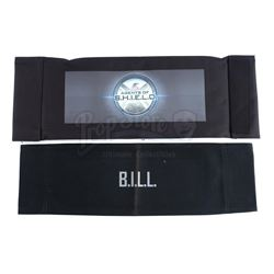 Lot #64 - Marvel's Agents of S.H.I.E.L.D. - John Garrett 'B.I.L.L.' Cast Member Chairback with Write