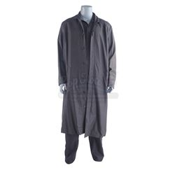 Lot #77 - Marvel's Agents of S.H.I.E.L.D. - Marcus 'Blackout' Daniels' Fridge Jumpsuit and Overcoat