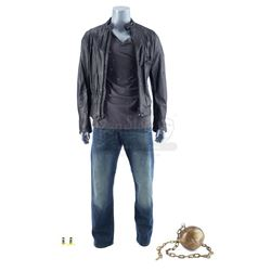 Lot #82 - Marvel's Agents of S.H.I.E.L.D. - Carl 'Absorbing Man' Creel's Bullet-Riddled Costume with