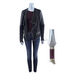 Lot #94 - Marvel's Agents of S.H.I.E.L.D. - Lady Sif's Amnesiac Costume with Asgardian Sword Piece