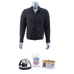 Lot #110 - Marvel's Agents of S.H.I.E.L.D. - Antoine 'Trip' Triplett's Jacket with Timer Bomb, Cigar