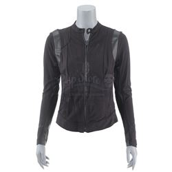 Lot #112 - Marvel's Agents of S.H.I.E.L.D. - Agent 33's Bullet-Riddled Melinda May Disguise Jacket
