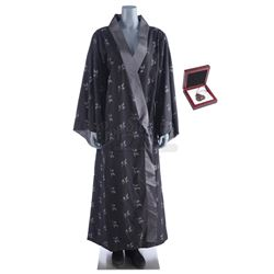 Lot #129 - Marvel's Agents of S.H.I.E.L.D. - Jiaying's Gunshot Costume and Chinese Necklace