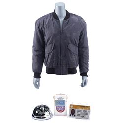 Lot #137 - Marvel's Agents of S.H.I.E.L.D. - Antoine 'Trip' Triplett's Jacket with Timer Bomb, Cigar