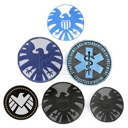 Lot #141 - Marvel's Agents of S.H.I.E.L.D. - Set of Six S.H.I.E.L.D. Patches