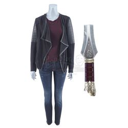 Lot #148 - Marvel's Agents of S.H.I.E.L.D. - Lady Sif's Amnesiac Costume with Asgardian Sword Piece
