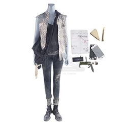 Lot #168 - Marvel's Agents of S.H.I.E.L.D. - Jemma Simmons' Maveth Costume with Accessories