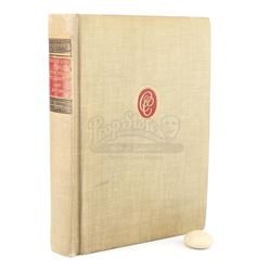 Lot #173 - Marvel's Agents of S.H.I.E.L.D. - Gideon Malick's 'Paradise Lost' Book with Stone