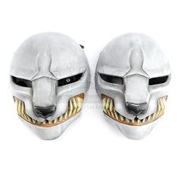 Lot #177 - Marvel's Agents of S.H.I.E.L.D. - Pair of Gray Watchdog Masks