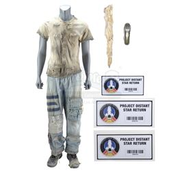 Lot #180 - Marvel's Agents of S.H.I.E.L.D. - Will Daniels' Partial Maveth Costume with Bone Knife an