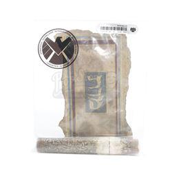 Lot #186 - Marvel's Agents of S.H.I.E.L.D. - Hebrew Maveth Scroll in S.H.I.E.L.D. Evidence Bag