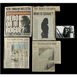 Lot #187 - Marvel's Agents of S.H.I.E.L.D. - Four Articles and a Photo from Phil Coulson's Quake Sur