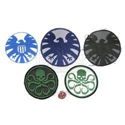 Lot #189 - Marvel's Agents of S.H.I.E.L.D. - Set of Six S.H.I.E.L.D. and Hydra Accessories
